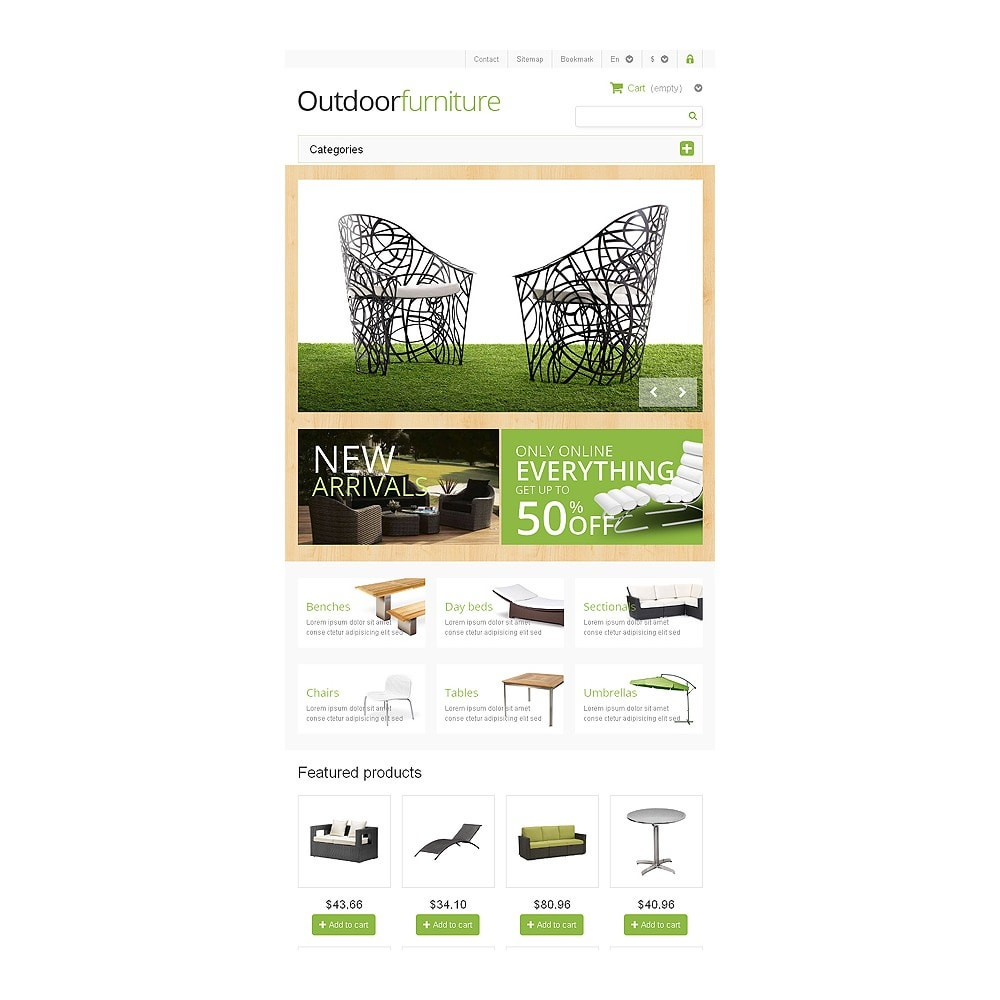 theme - Kunst & Cultuur - Outdoor Furniture Store - 7