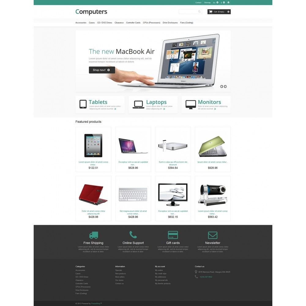 theme - Electronics & Computers - Responsive Computers Store - 2