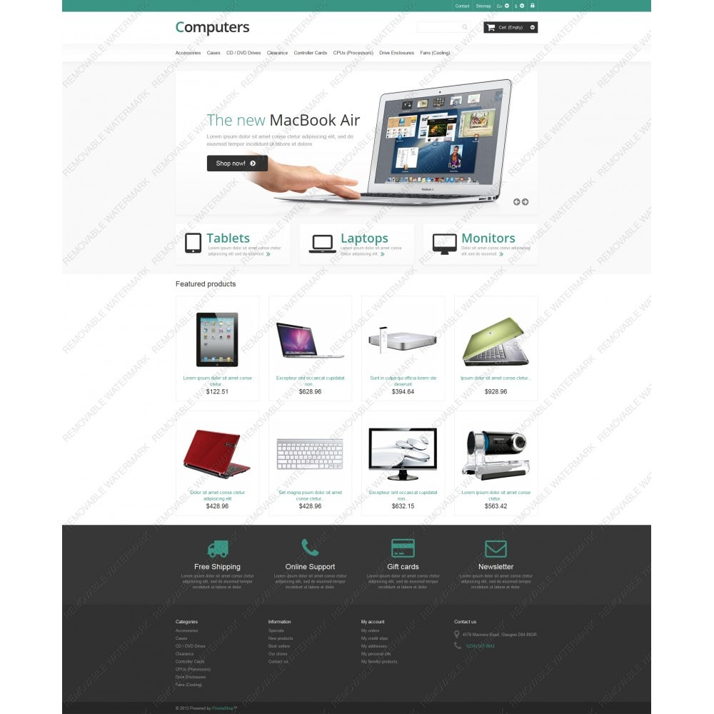 theme - Electronics & Computers - Responsive Computers Store - 5