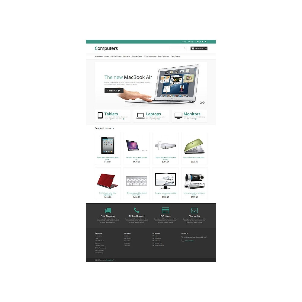 theme - Electronics & Computers - Responsive Computers Store - 10