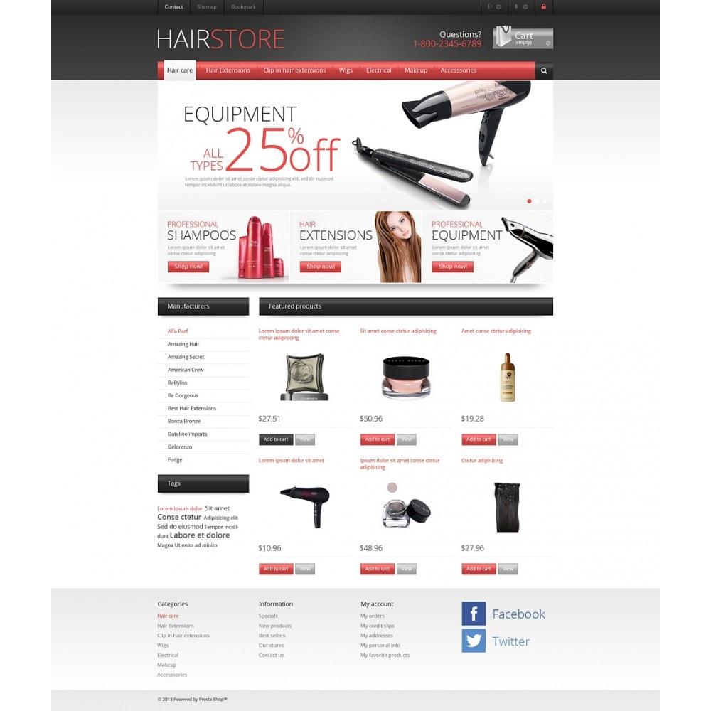 theme - Moda & Calçados - Responsive Hair Store - 2