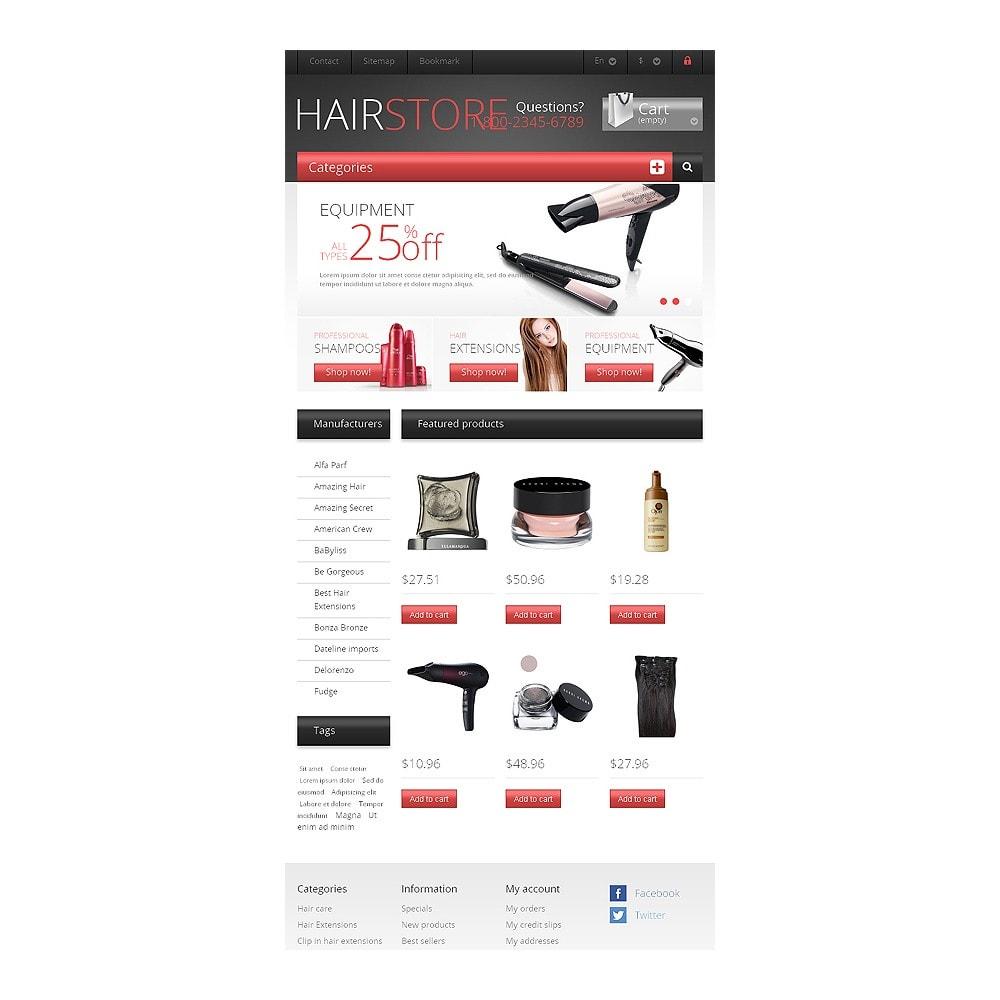 theme - Moda & Calçados - Responsive Hair Store - 7