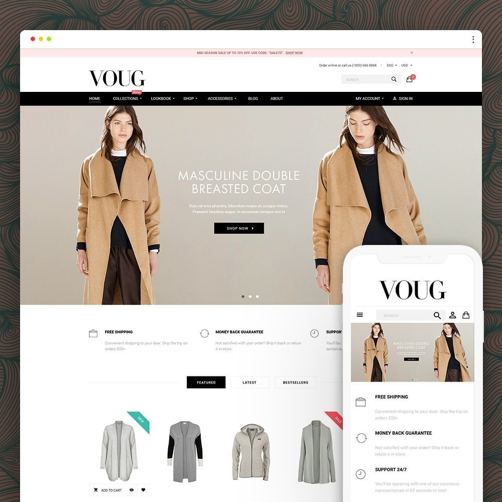 theme - Moda & Calzature - Vogue - Fashion Store - 1