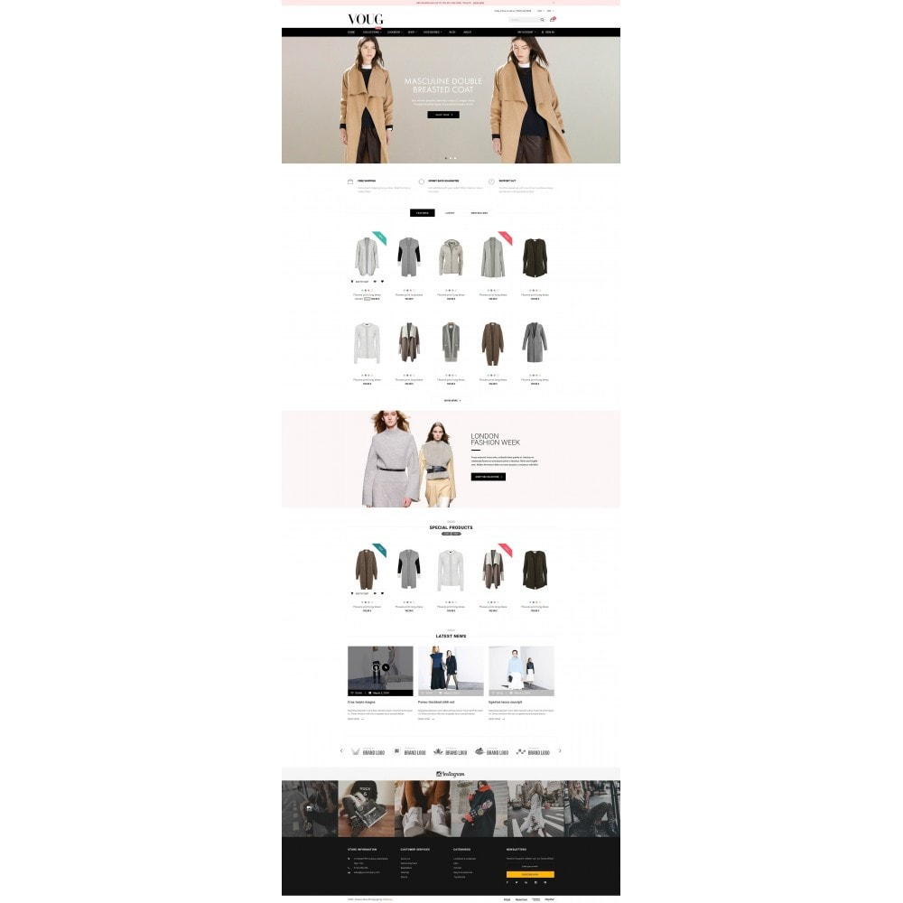 theme - Moda & Calzature - Vogue - Fashion Store - 2
