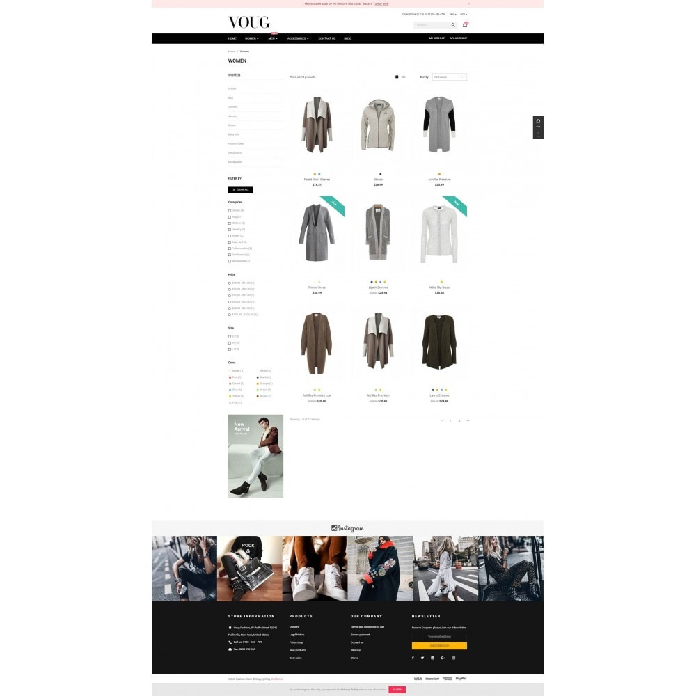 theme - Moda & Calzature - Vogue - Fashion Store - 3