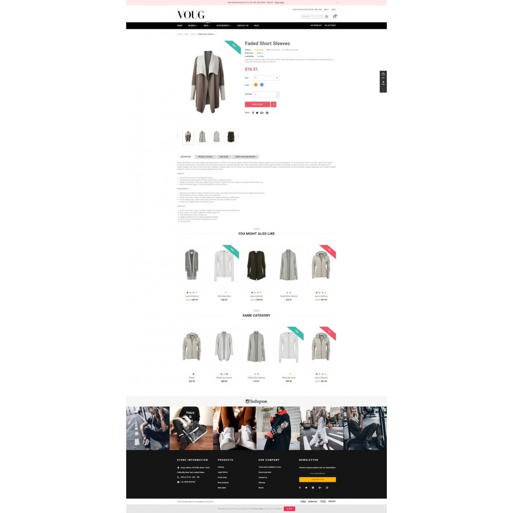 theme - Moda & Calzature - Vogue - Fashion Store - 4