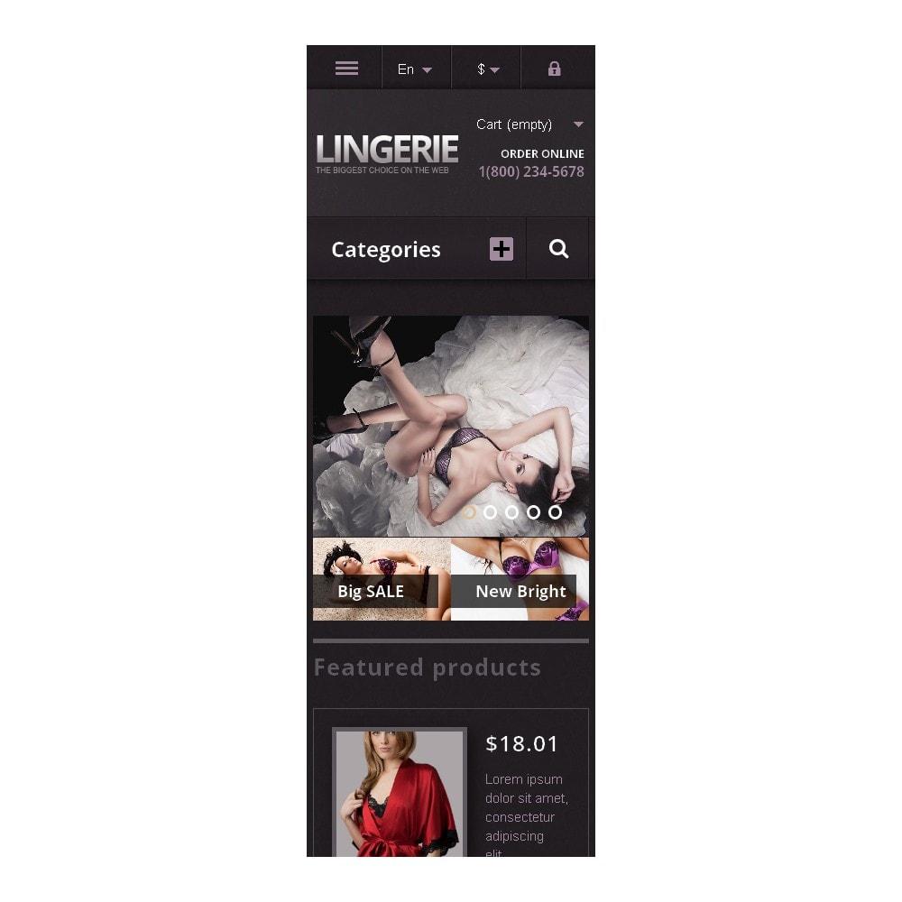 theme - Fashion & Shoes - Responsive Lingerie Store - 9