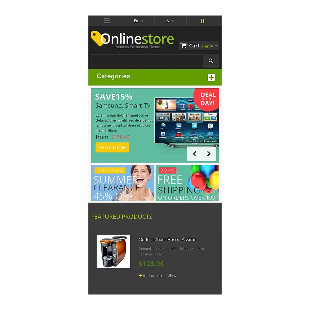 theme - Electronique & High Tech - Responsive Online Store - 8