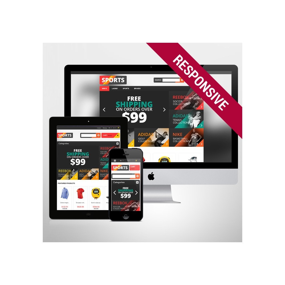 theme - Sports, Activities & Travel - Responsive Sports Store - 1
