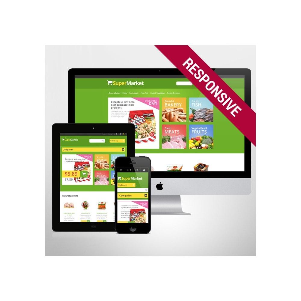 theme - Lebensmittel & Restaurants - Responsive Supermarket - 1