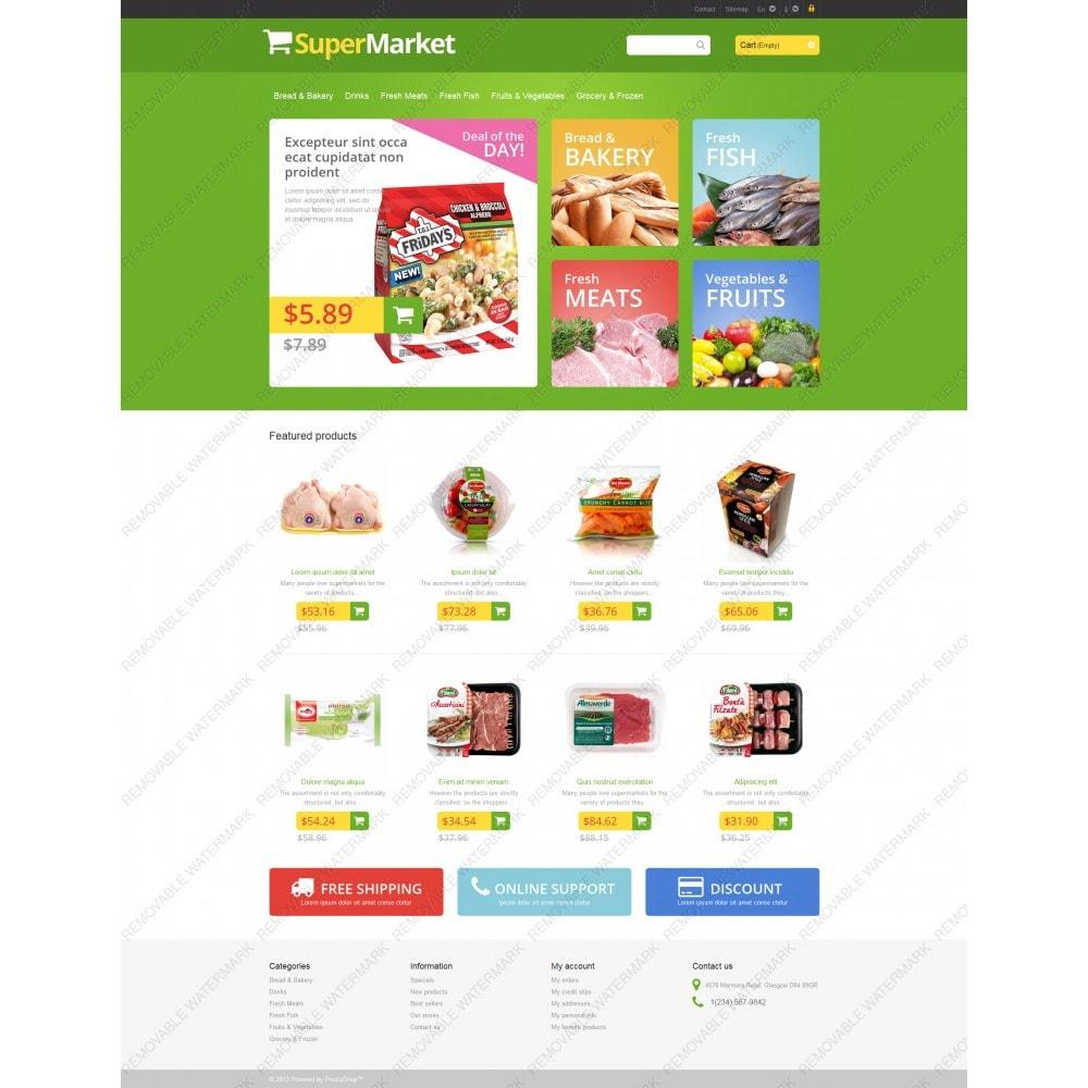 theme - Żywność & Restauracje - Responsive Supermarket - 3