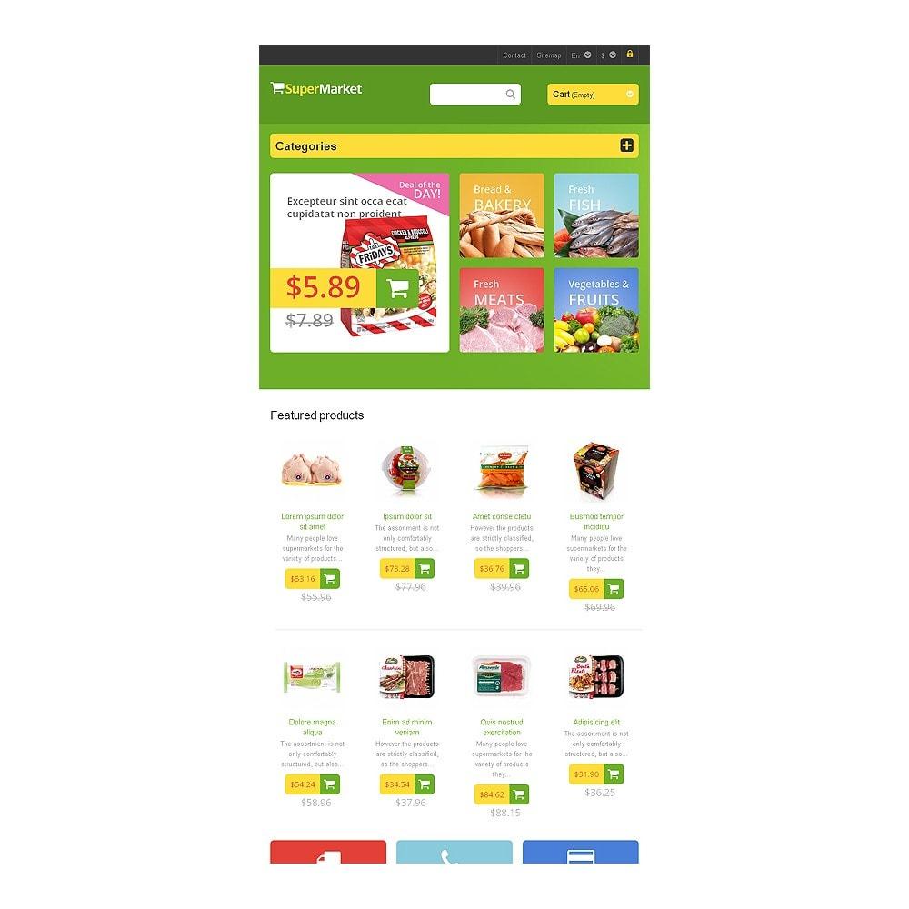 theme - Żywność & Restauracje - Responsive Supermarket - 7