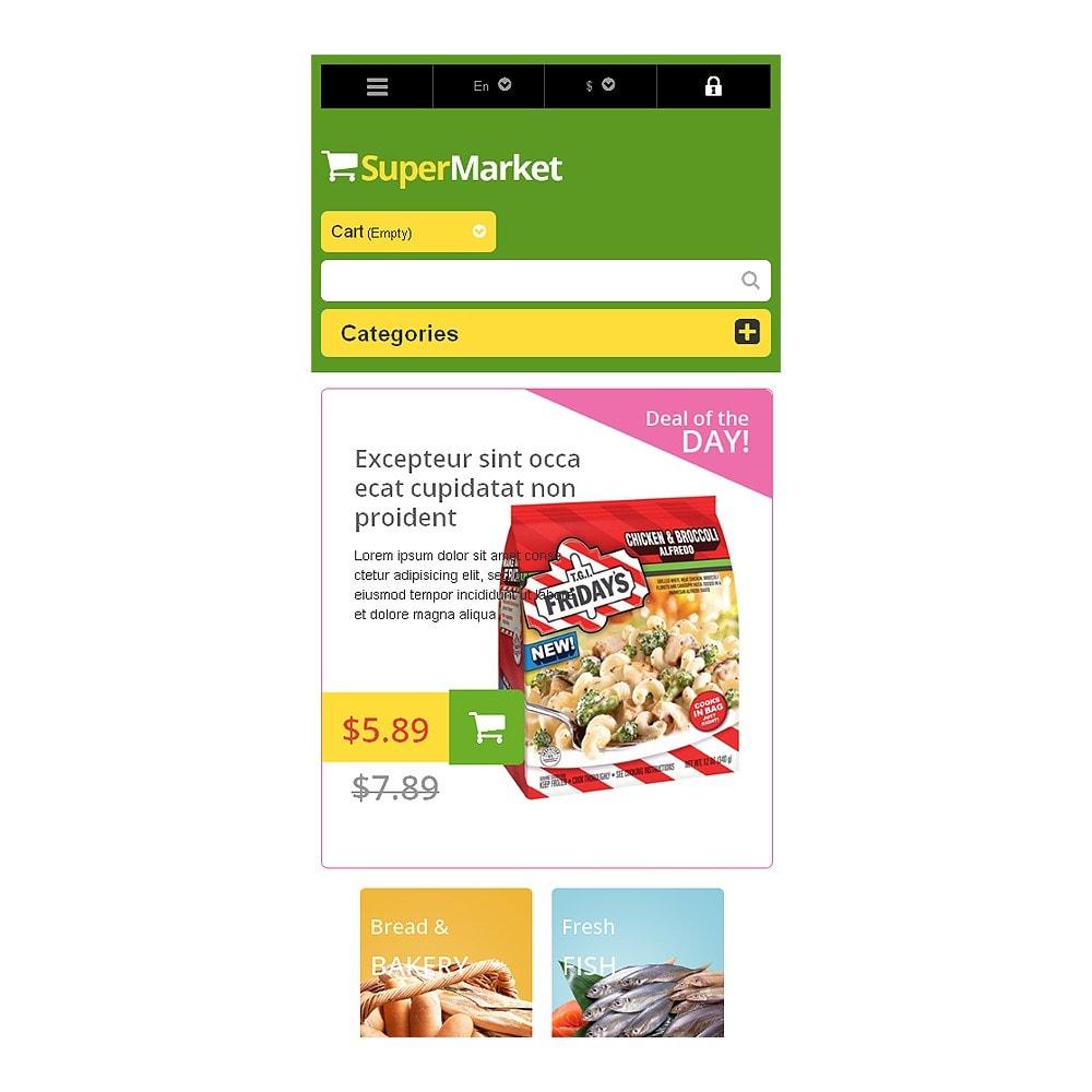 theme - Lebensmittel & Restaurants - Responsive Supermarket - 8
