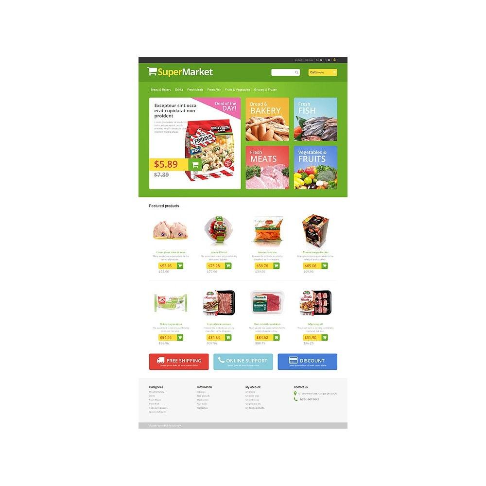 theme - Żywność & Restauracje - Responsive Supermarket - 10