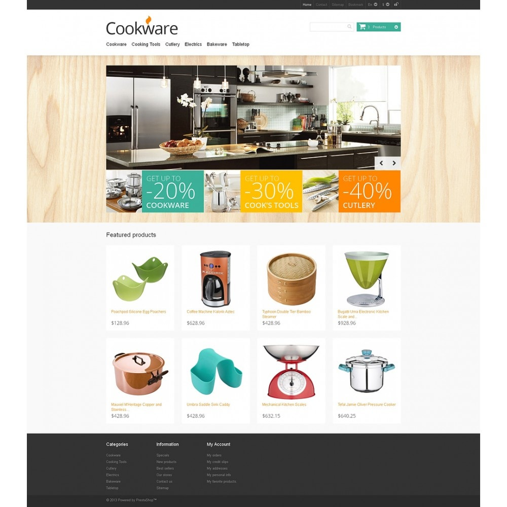 theme - Art & Culture - Responsive Cookware Store - 2
