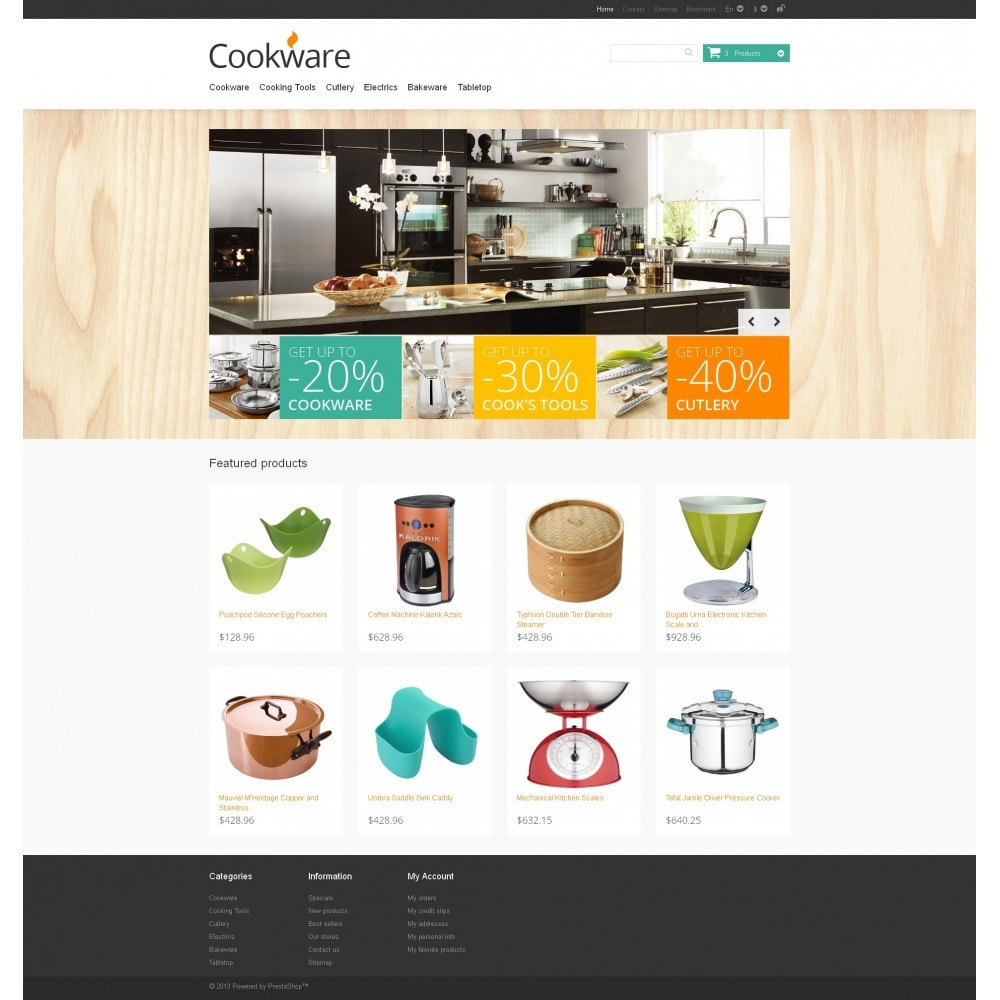 theme - Art & Culture - Responsive Cookware Store - 4
