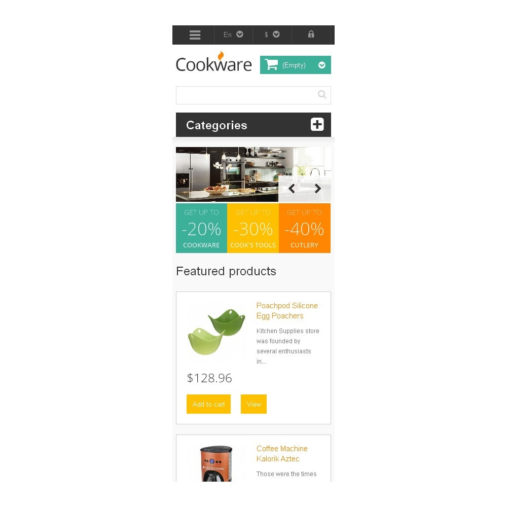 theme - Art & Culture - Responsive Cookware Store - 9