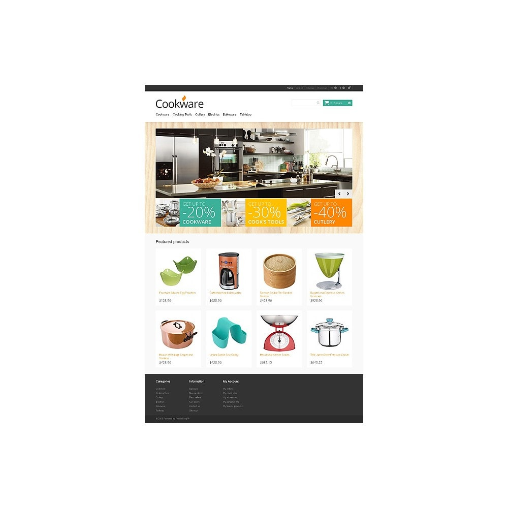 theme - Art & Culture - Responsive Cookware Store - 10