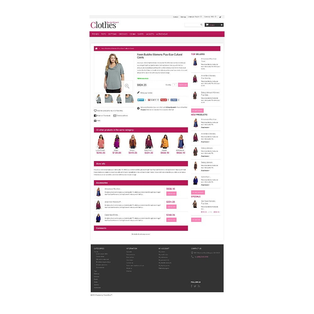 theme - Fashion & Shoes - Plus Size Clothes Store - 6