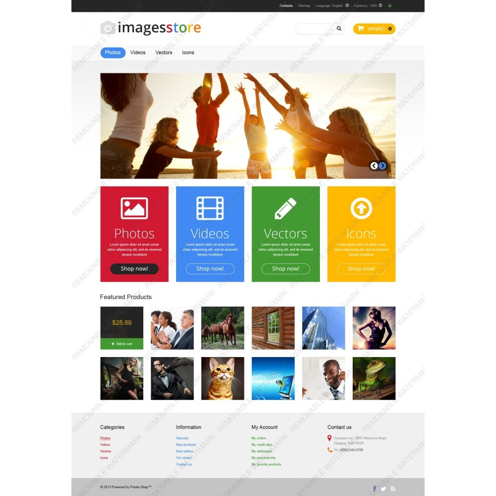 theme - Art & Culture - Responsive Image Store - 3