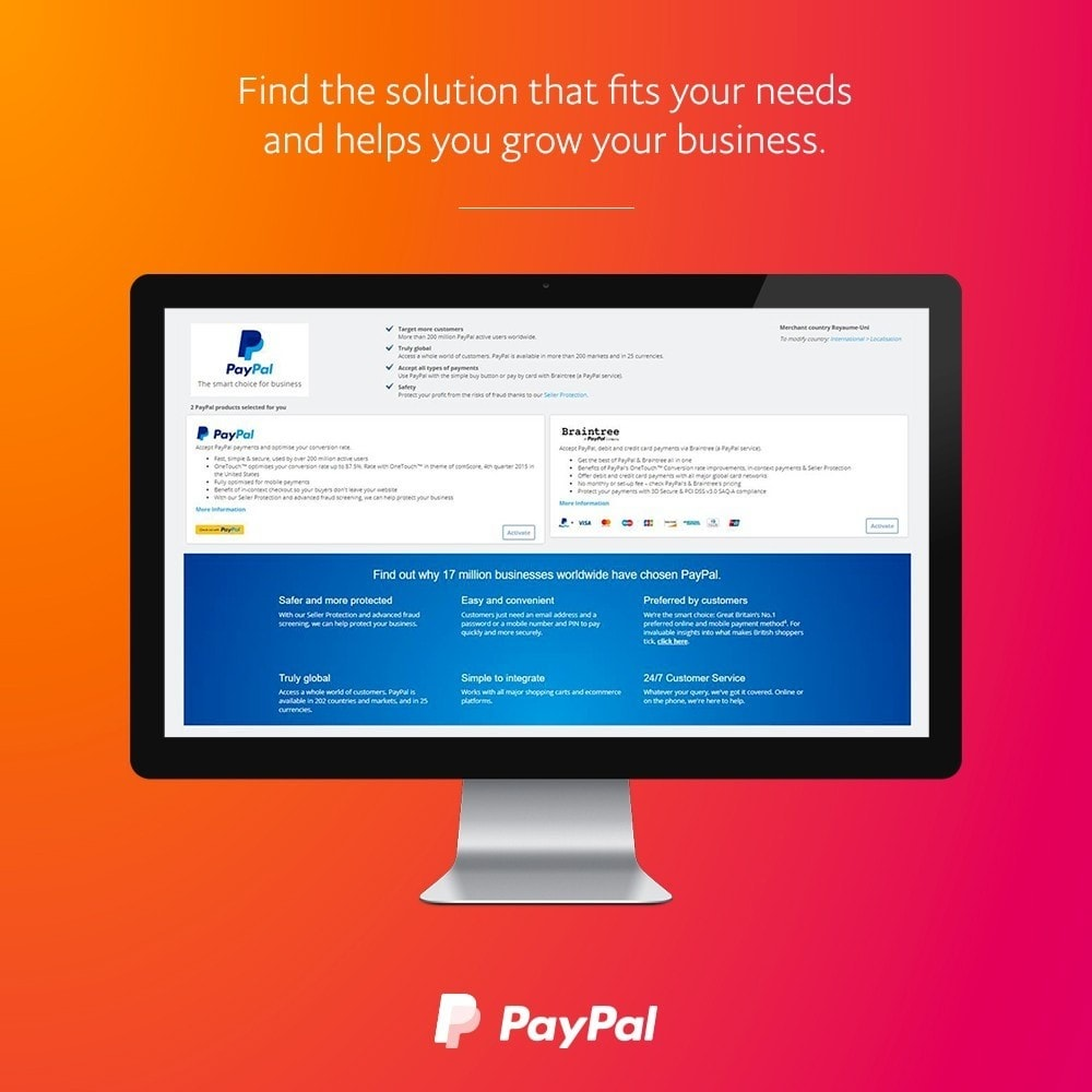 module - Payment by Card or Wallet - PayPal & Braintree official - 2