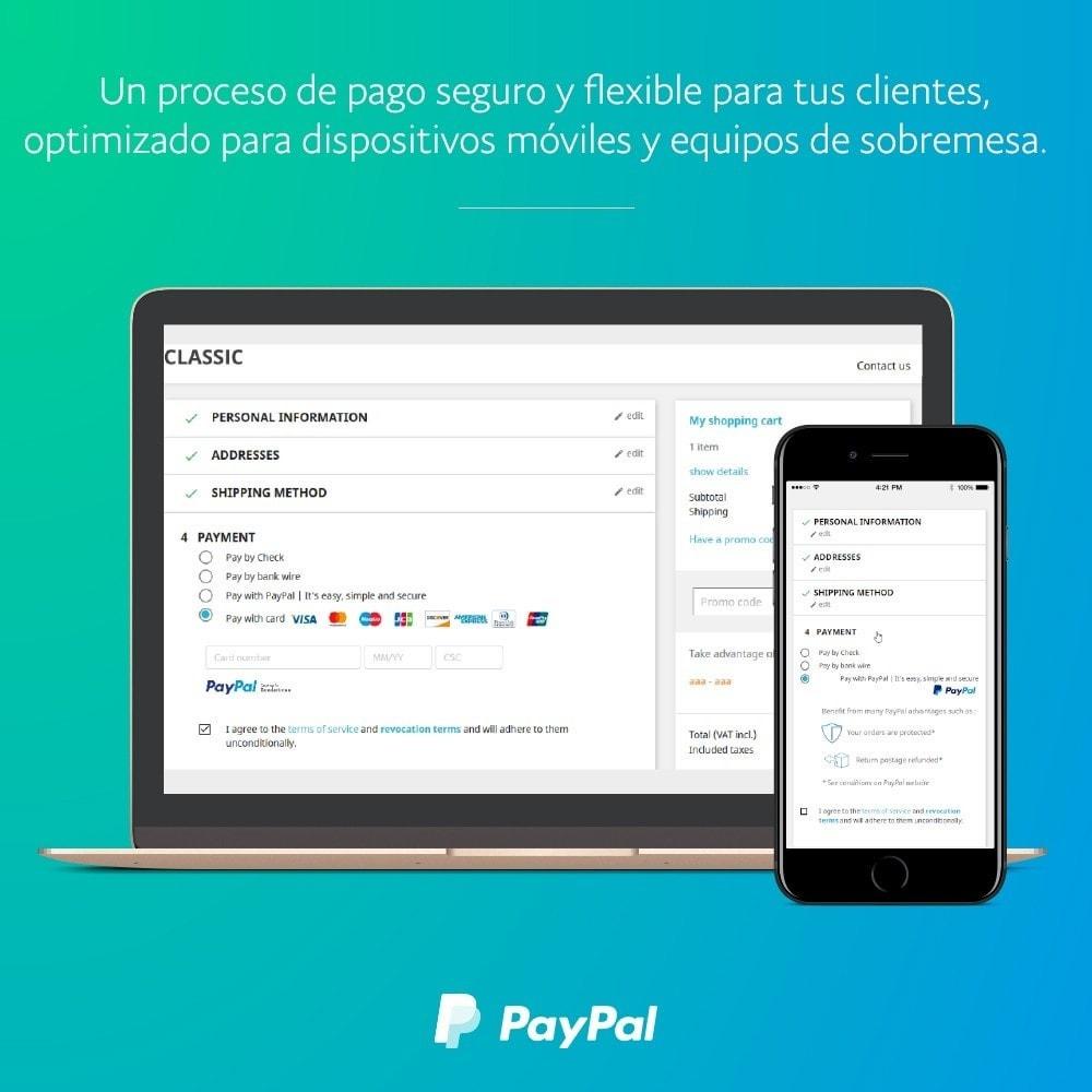 module - Pago con Tarjeta o Carteras digitales - Oficial de PayPal - 1