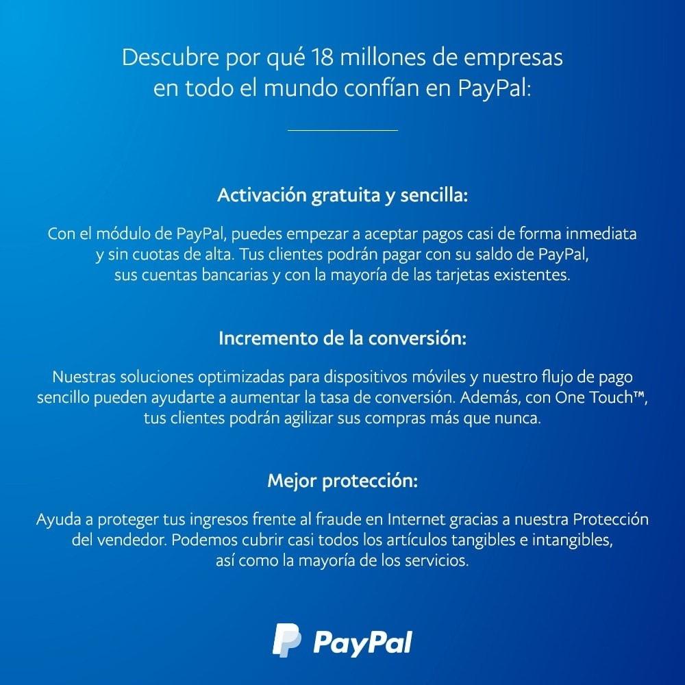 module - Pago con Tarjeta o Carteras digitales - oficial de PayPal y Braintree - 4