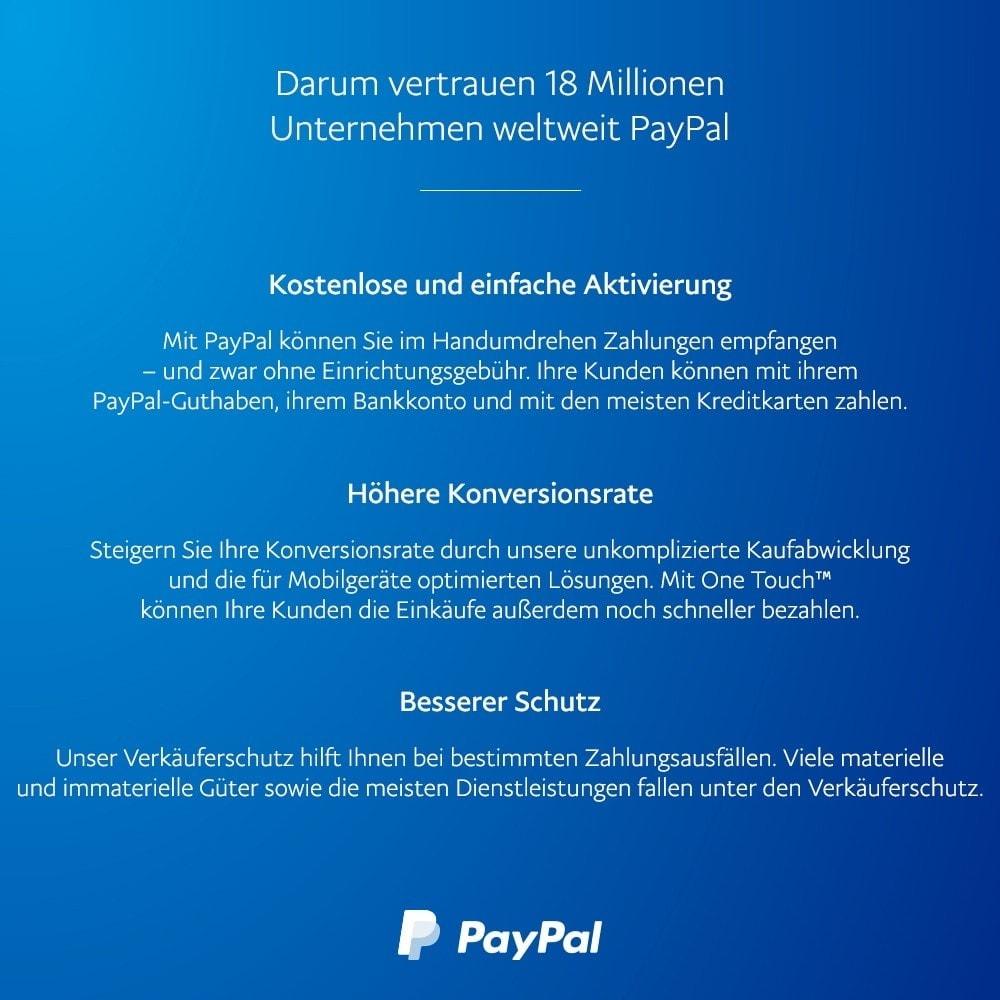 module - Zahlung per Kreditkarte oder Wallet - Offizielles  von PayPal - 4