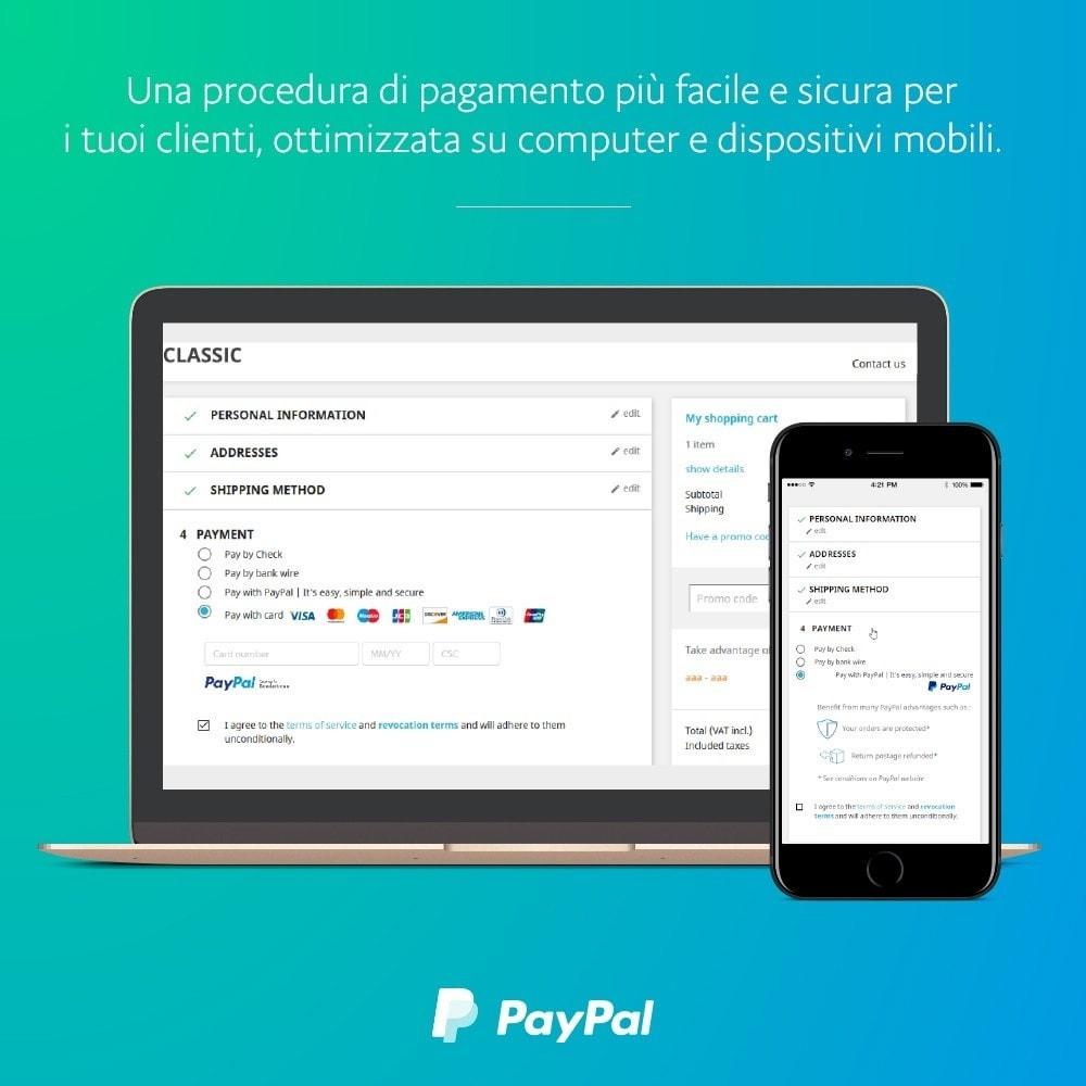 module - Pagamento con Carta di Credito o Wallet - ufficiale di PayPal e Braintree - 1