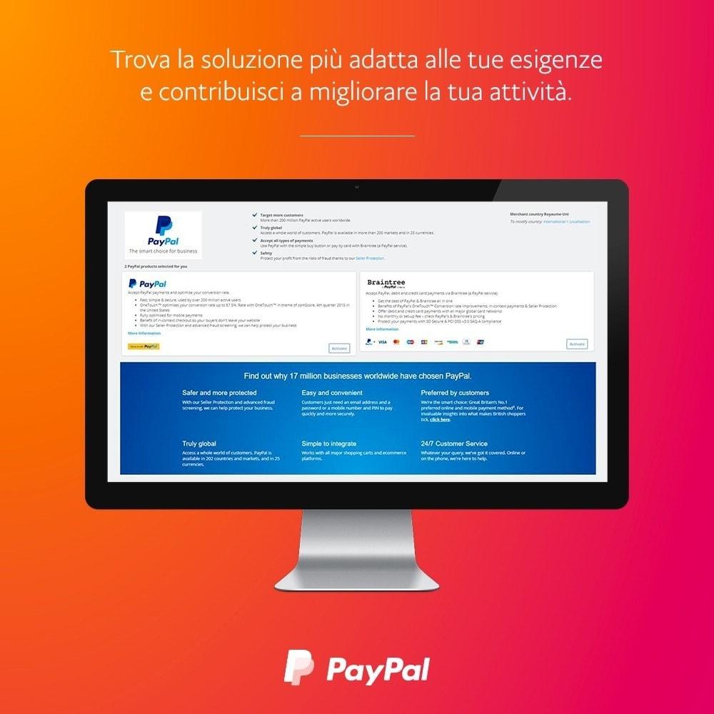 module - Pagamento con Carta di Credito o Wallet - ufficiale di PayPal e Braintree - 2