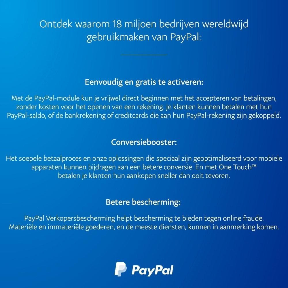 module - Creditcardbetaling of Walletbetaling - Officiële PayPal - 4