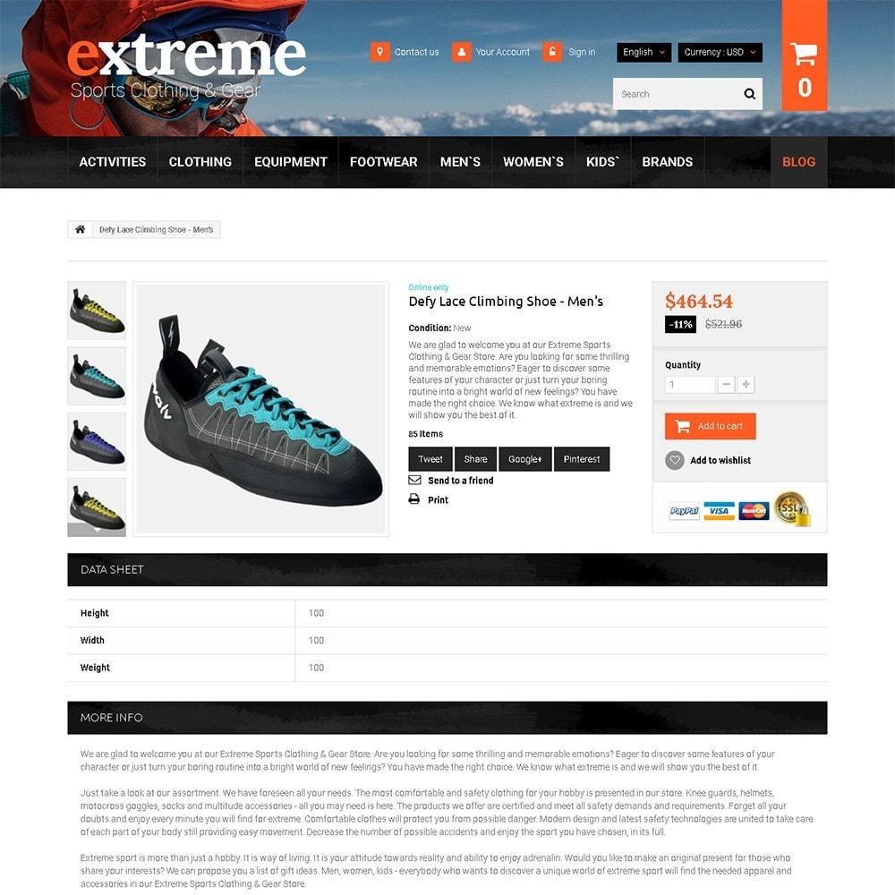 theme - Desporto, Actividades & Viagens - Extreme - Extreme Clothes & Gear - 3