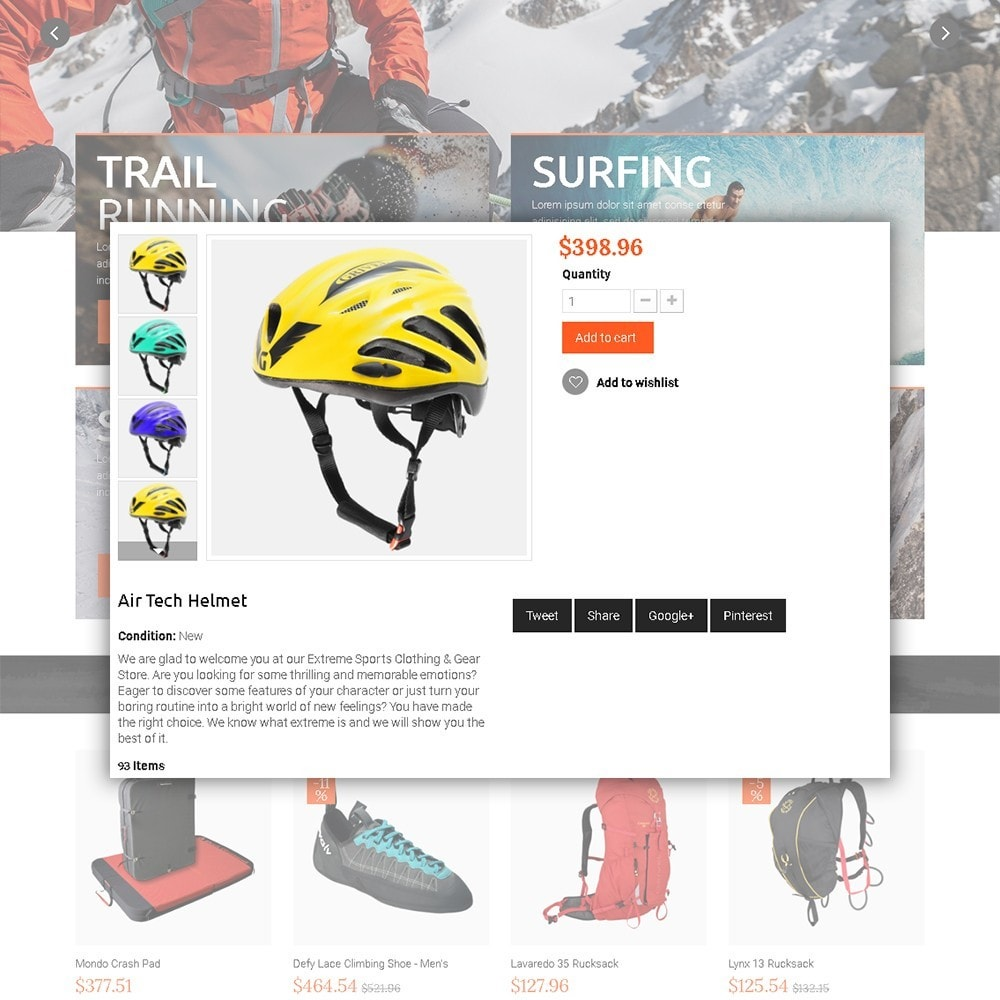 theme - Sport, Loisirs & Voyage - Extreme - Extreme Clothes & Gear - 4