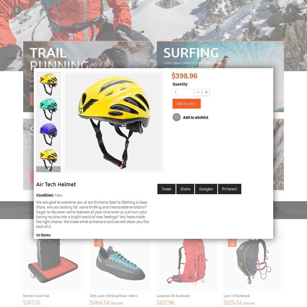theme - Desporto, Actividades & Viagens - Extreme - Extreme Clothes & Gear - 4