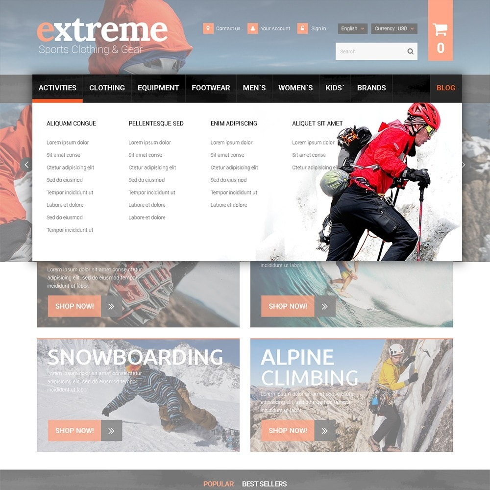 theme - Sport, Loisirs & Voyage - Extreme - Extreme Clothes & Gear - 5