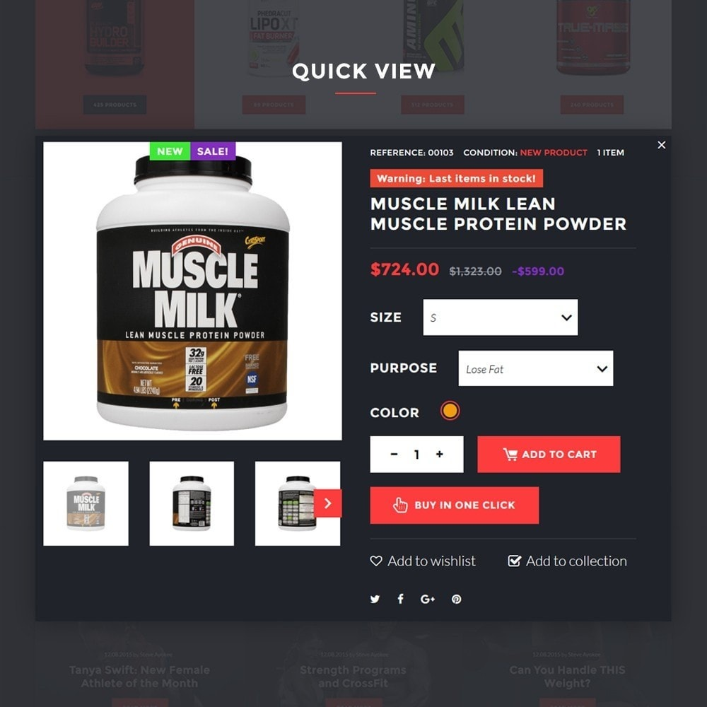 theme - Sports, Activities & Travel - SportLabs - Sports Nutrition - 6