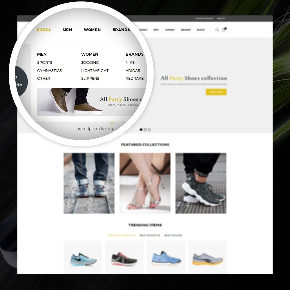 theme - Moda y Calzado - Dazzel - Shoes store - 7