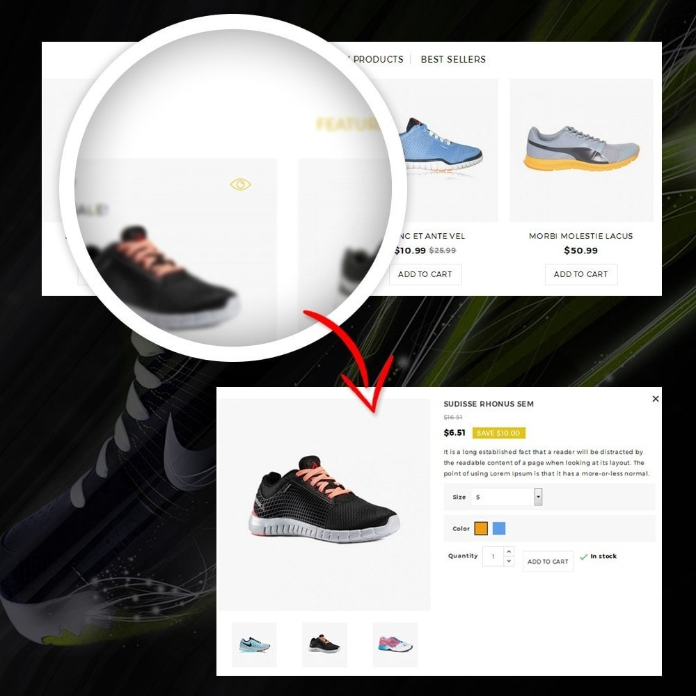 theme - Moda y Calzado - Dazzel - Shoes store - 8