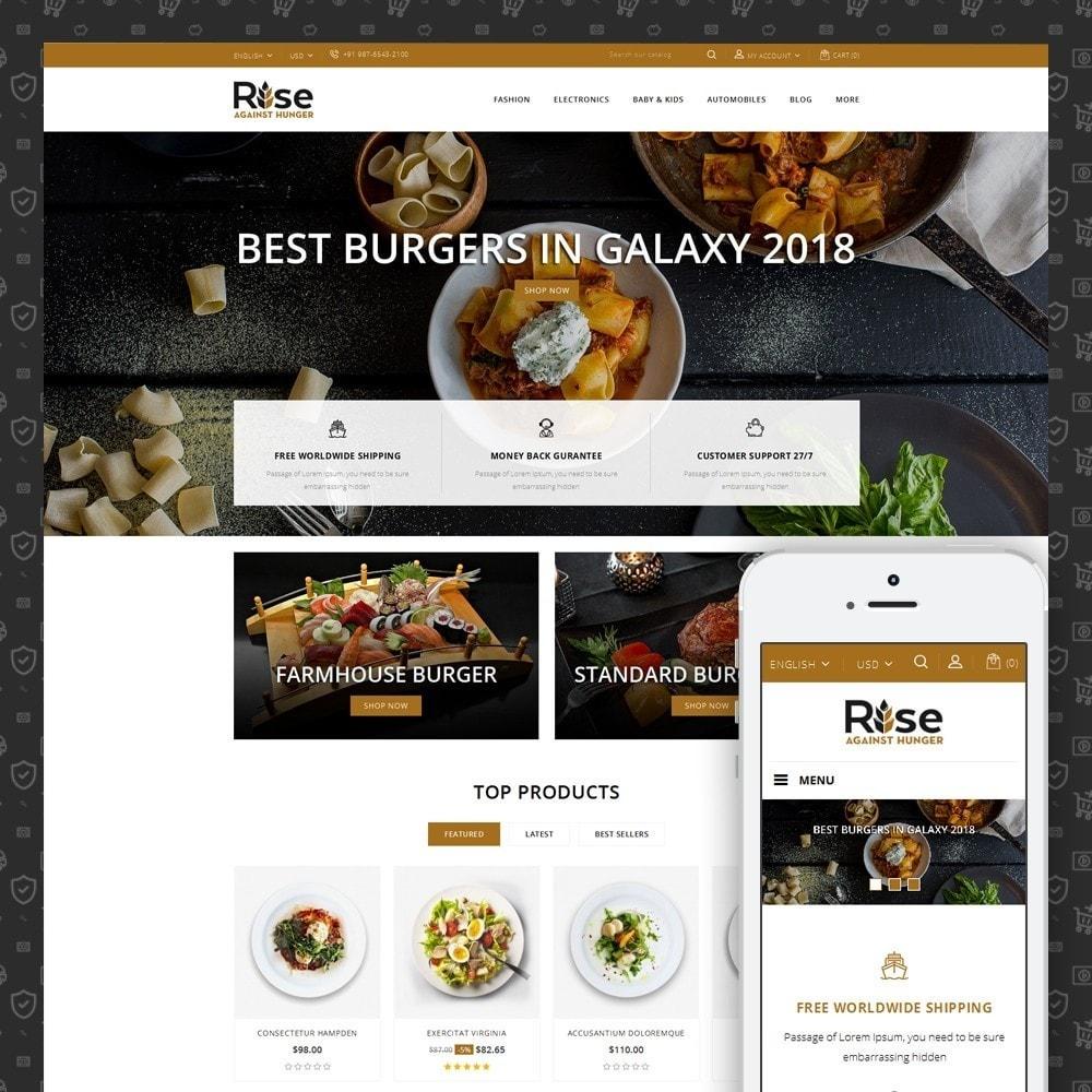 theme - Żywność & Restauracje - RISE - Food Store - 1