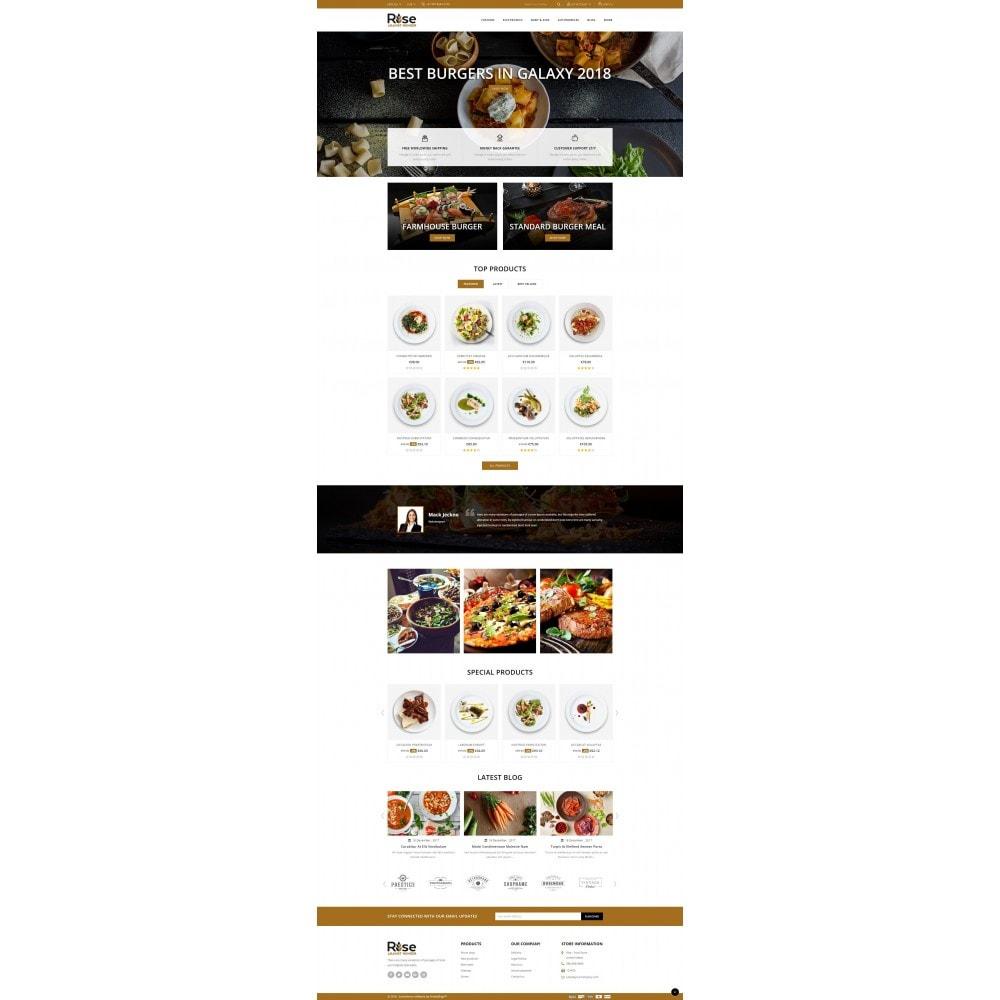 theme - Żywność & Restauracje - RISE - Food Store - 2