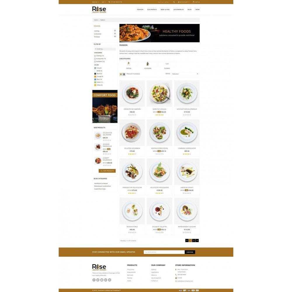 theme - Żywność & Restauracje - RISE - Food Store - 3