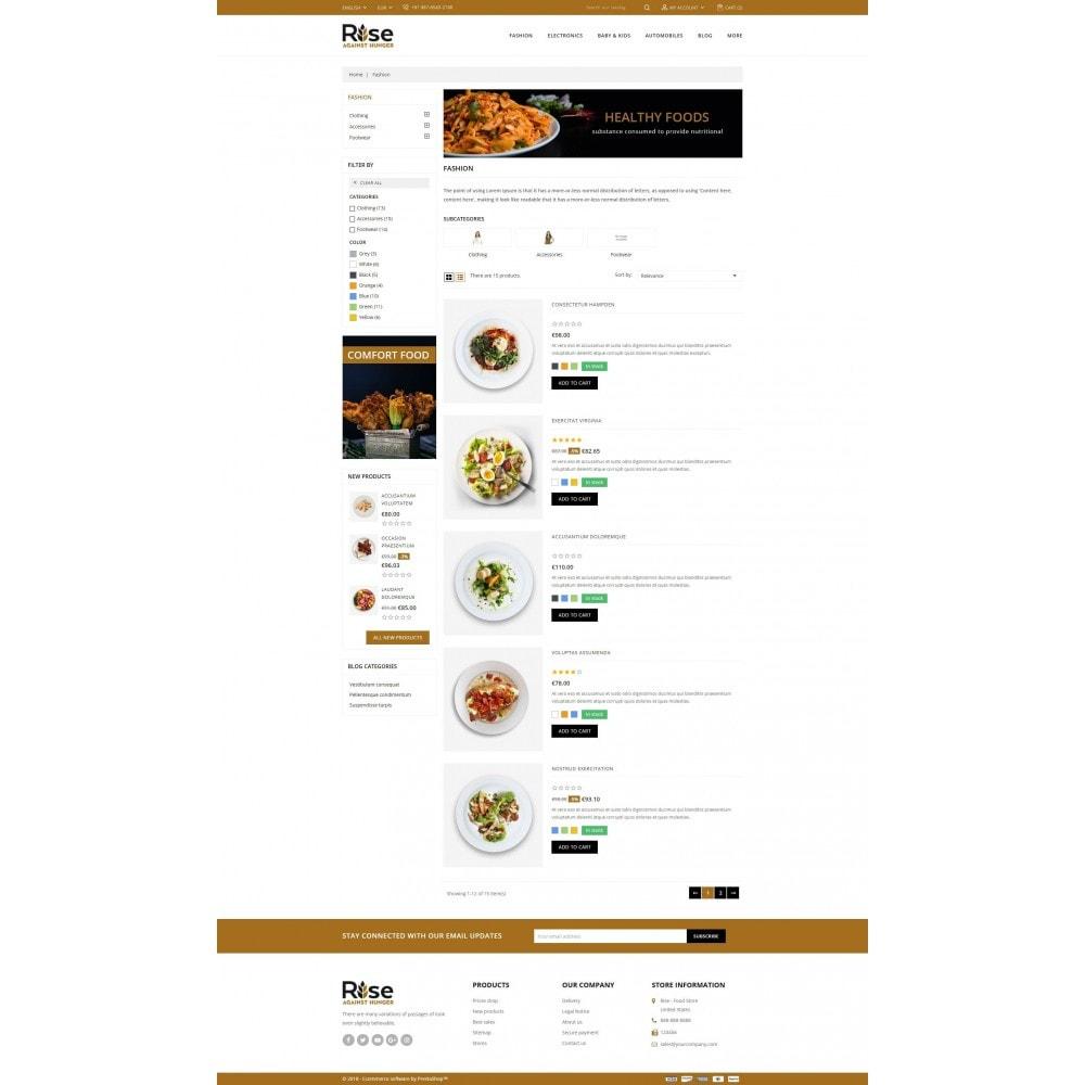 theme - Żywność & Restauracje - RISE - Food Store - 4