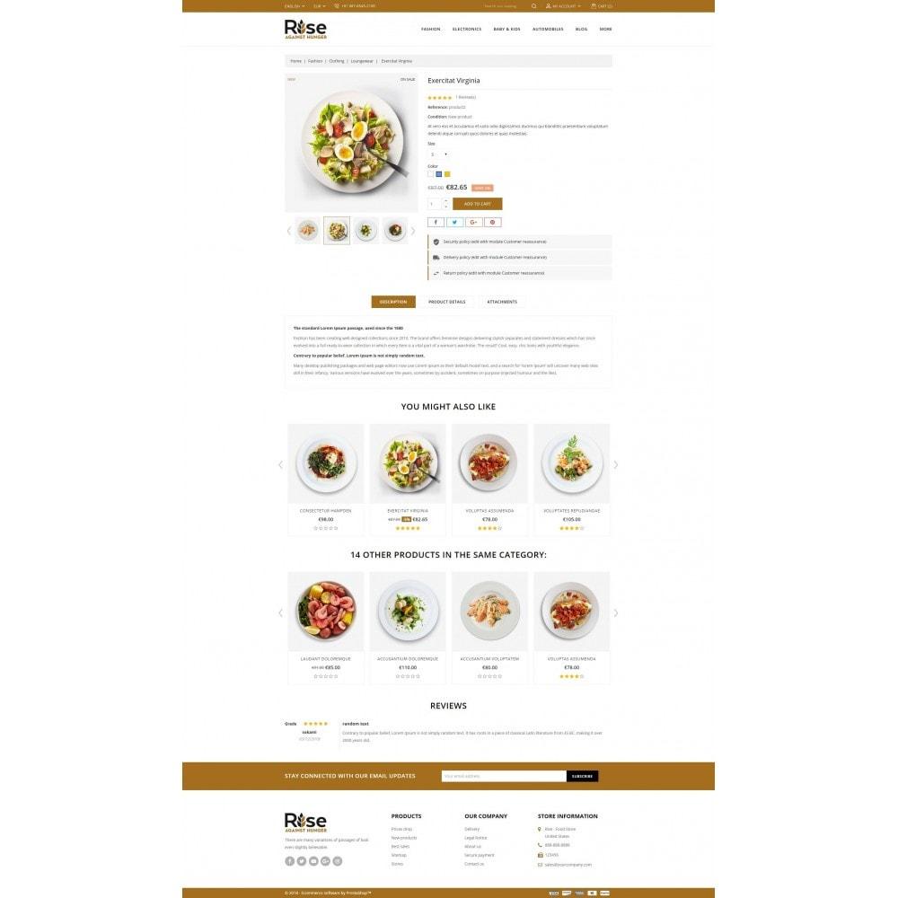 theme - Żywność & Restauracje - RISE - Food Store - 5