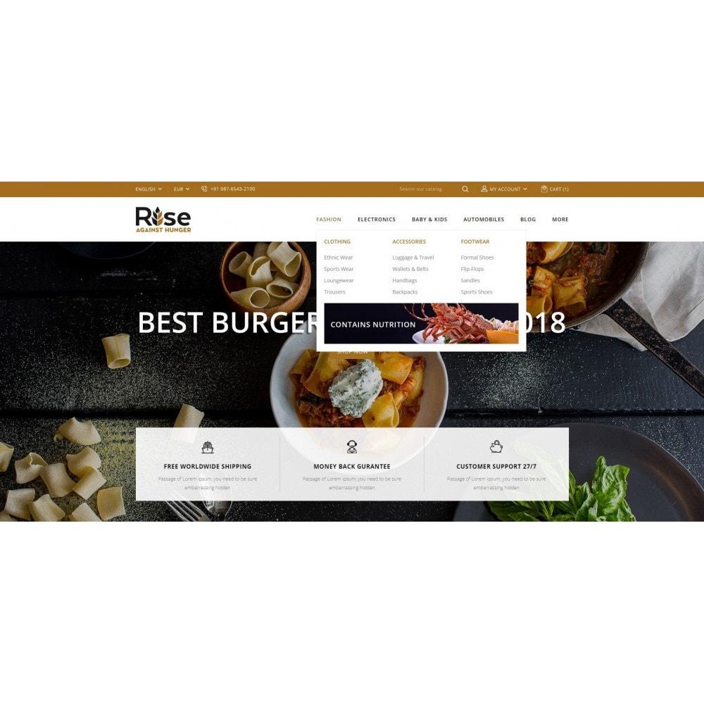 theme - Żywność & Restauracje - RISE - Food Store - 6