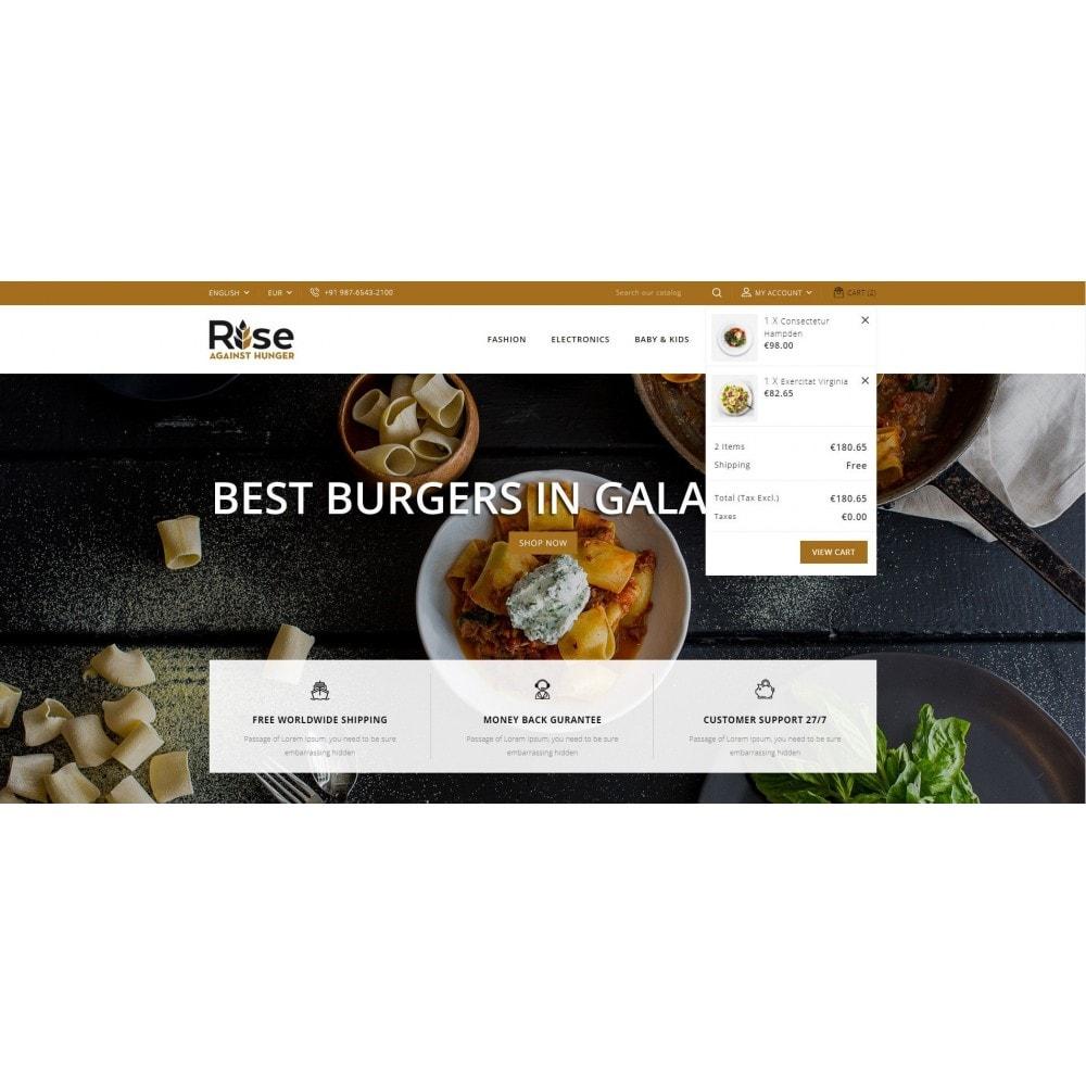 theme - Żywność & Restauracje - RISE - Food Store - 8