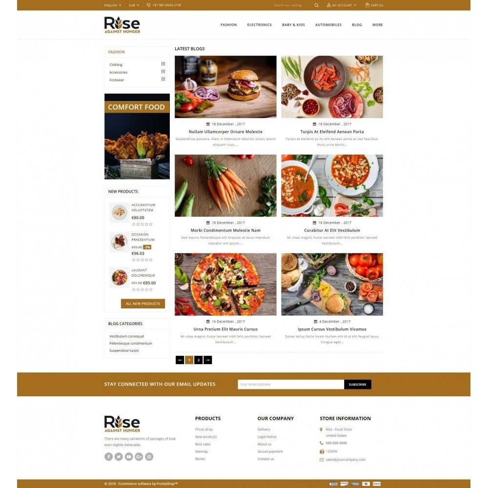 theme - Żywność & Restauracje - RISE - Food Store - 9