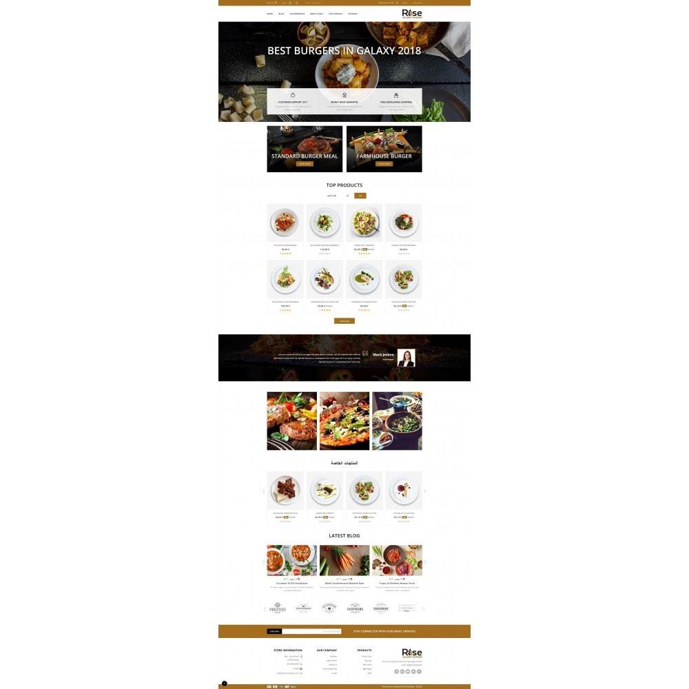 theme - Żywność & Restauracje - RISE - Food Store - 10