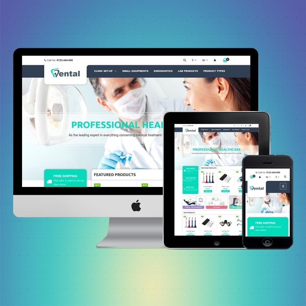 theme - Saúde & Beleza - VP_Dental Store - 1