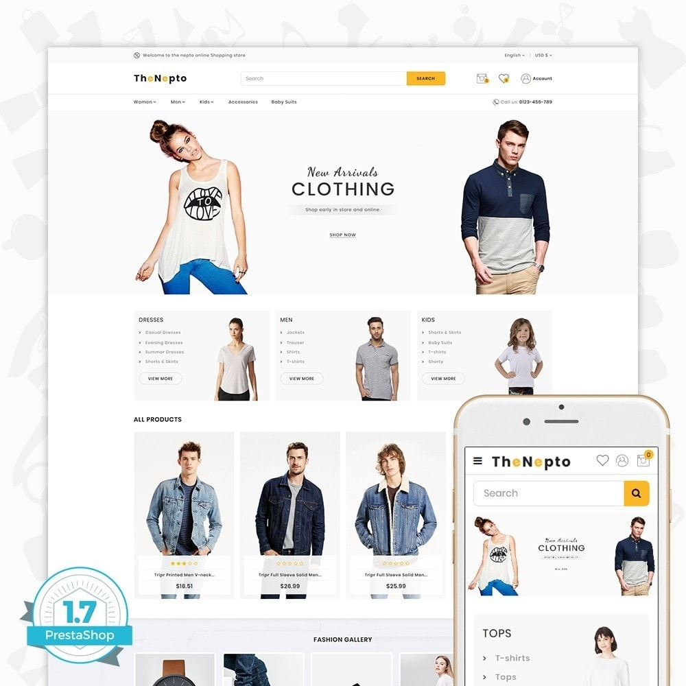 theme - Moda & Calzature - The Nepto - The Fashion Store - 1