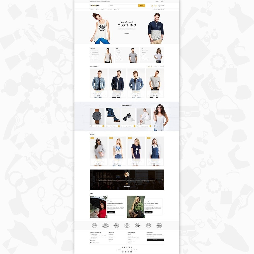 theme - Moda & Calzature - The Nepto - The Fashion Store - 2